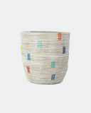 Tall Rainbow Pixel Basket - Hesby