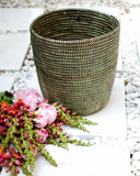 Tall Black Basket - Hesby