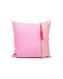 Metallic Pink Tassel Pillow