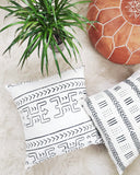 Koro Mudcloth Pillow - Hesby