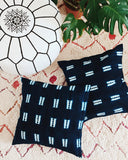 Indigo Dyed Throw Pillow - Hesby