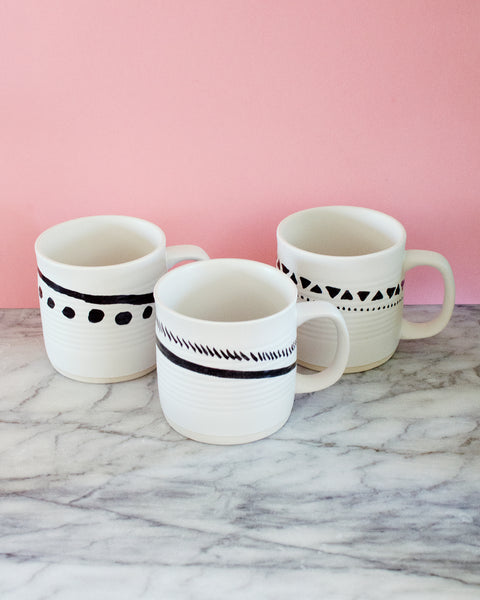 Oversized Graphic Mug - Hesby