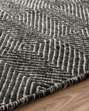 Black Diamond Wool Rug
