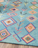 Blue Gypsy Wool Rug