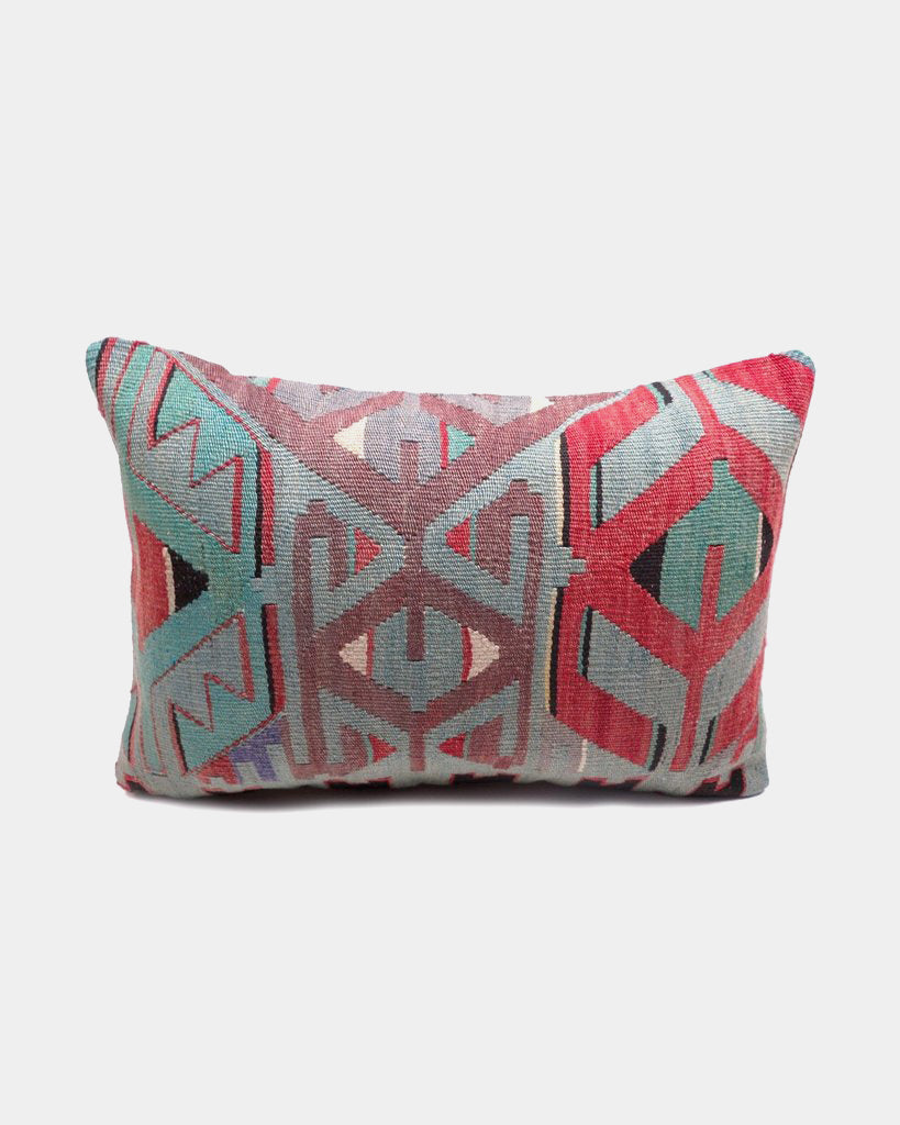 Graphic Kilim Lumbar Pillow - Hesby