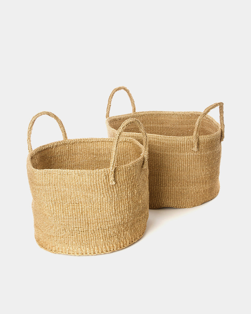Wanderer Natural Basket Bag - Hesby