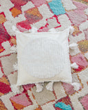 Tufted Moon Pillow