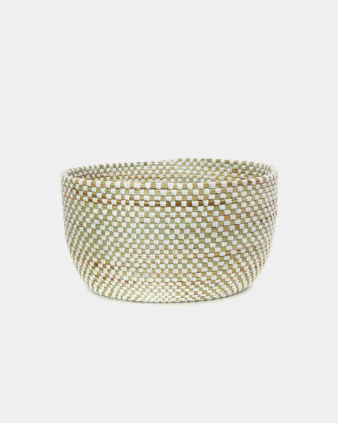Cleo Checker Storage Basket - Hesby