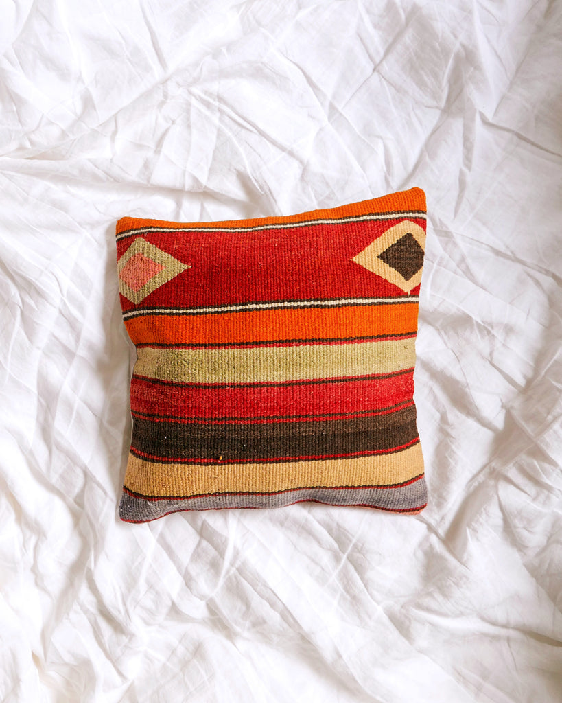 Eliene Graphic Kilim Pillow