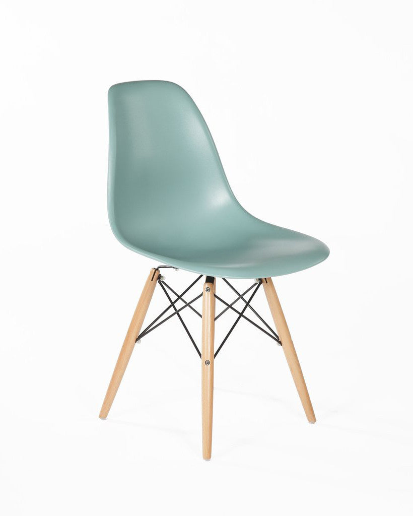 Eames Style Mid-Century Eiffel Plastic Color Chair