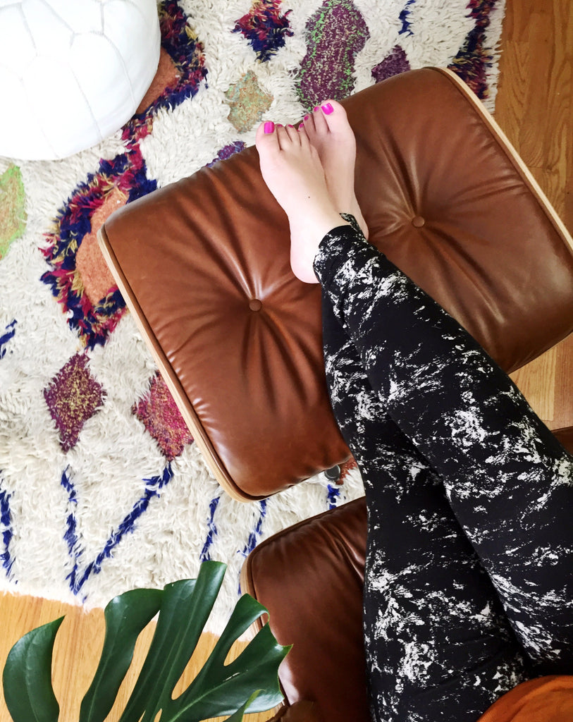 Boho Chic Shag Rug from Hesby