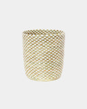 Cleo Tall Checker Basket - Hesby