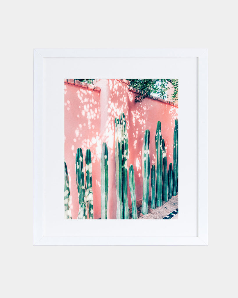 Pink Cactus Print - Hesby