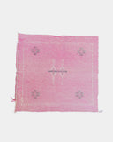 Pink Cactus Silk Pillow