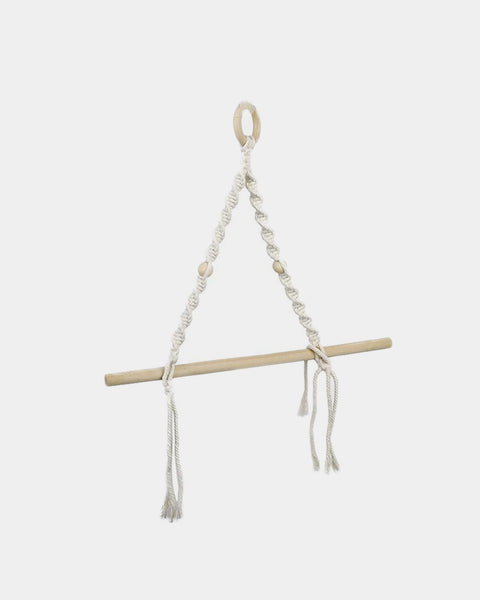 Macrame Paper Towel Holder - Hesby