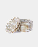 White Mini Storage Basket - Hesby