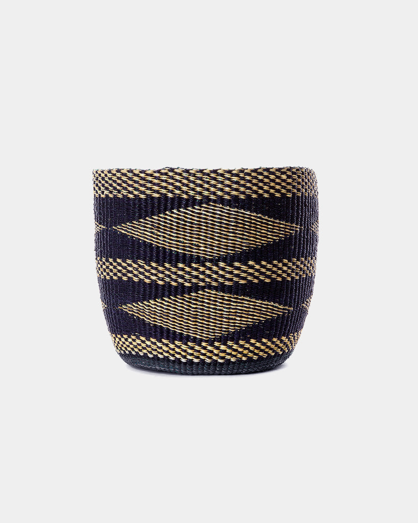 Navy Diamond Basket - Hesby