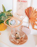 Rattan Eye Wall Decor - Hesby