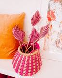 Pink Mini Dried Palm Spears