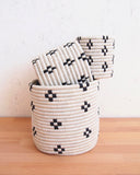 Pearl Black + White Basket