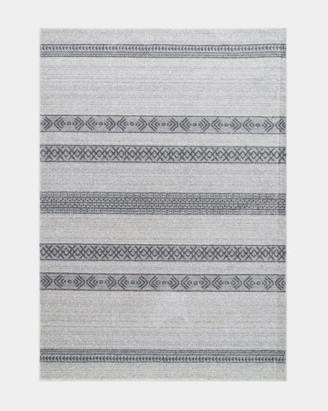 Tribal Striped Rug - Hesby