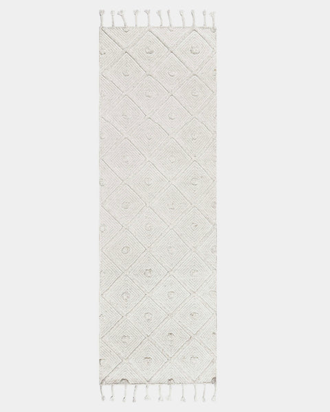 Pugia Ivory Dotted Rug - Hesby