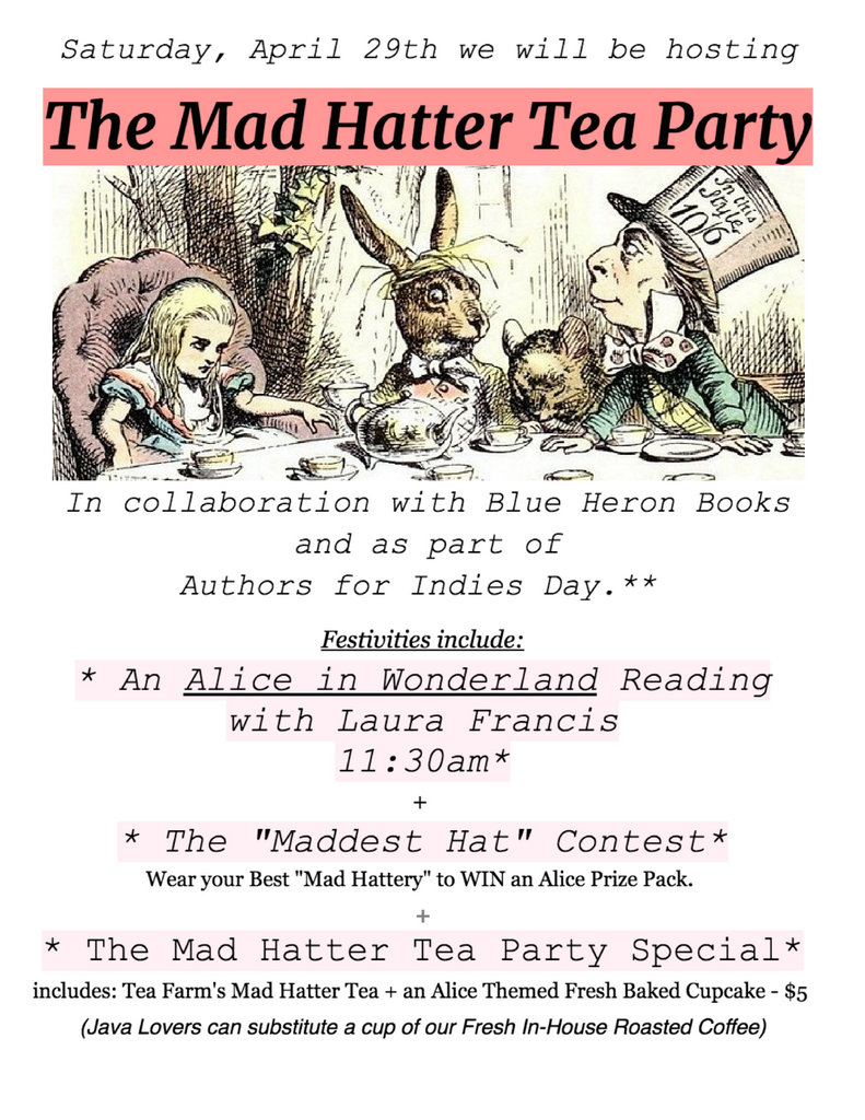 The Mad Hatter Tea Party is this Weekend!