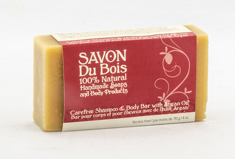 Carefree Shampoo & Body Bar with Argan Oil