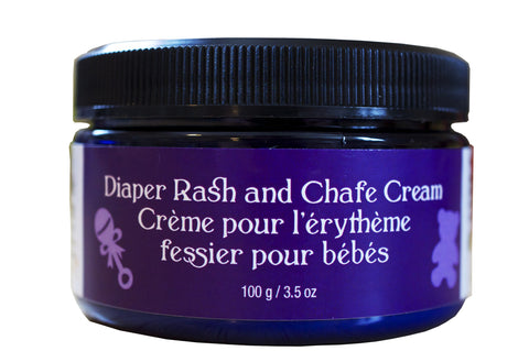 Natural Diaper Rash and Chafe Cream