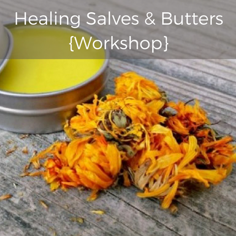 Level 1 | Healing Salves & Butters | COMING SOON.