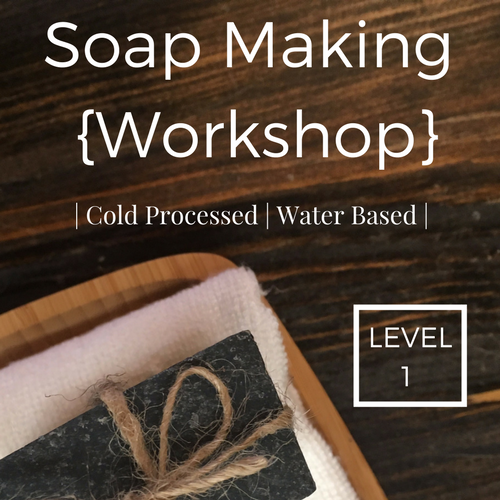 Beginner | Cold Process Soap Making | Water Based | June 4th @ 1pm