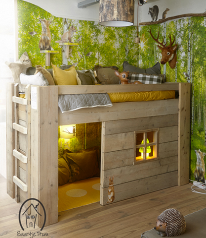 treehouse, bedroom, kids decor, kids bedrooms, kids ideas, kids diy, kidsrooms, kidstyle, cosy nook