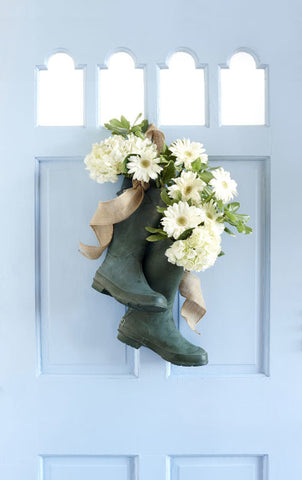 Boots DIY FLoral project