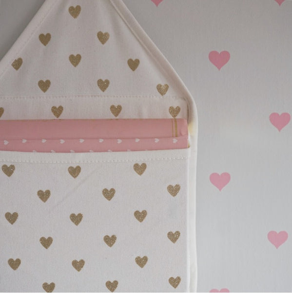 Blush pink and white nursery - Rocky Mountain Decals