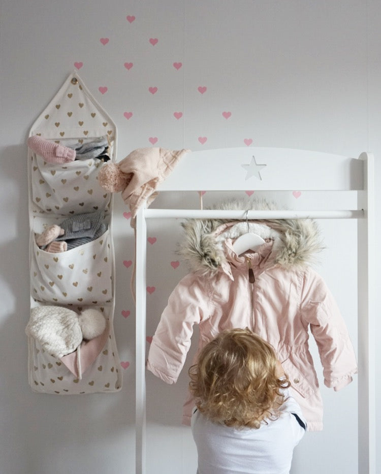 Plush Pink and White Nursery - Rocky Mountain Decals