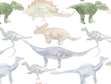 Dinosaur Wallpaper (Peel & Stick)