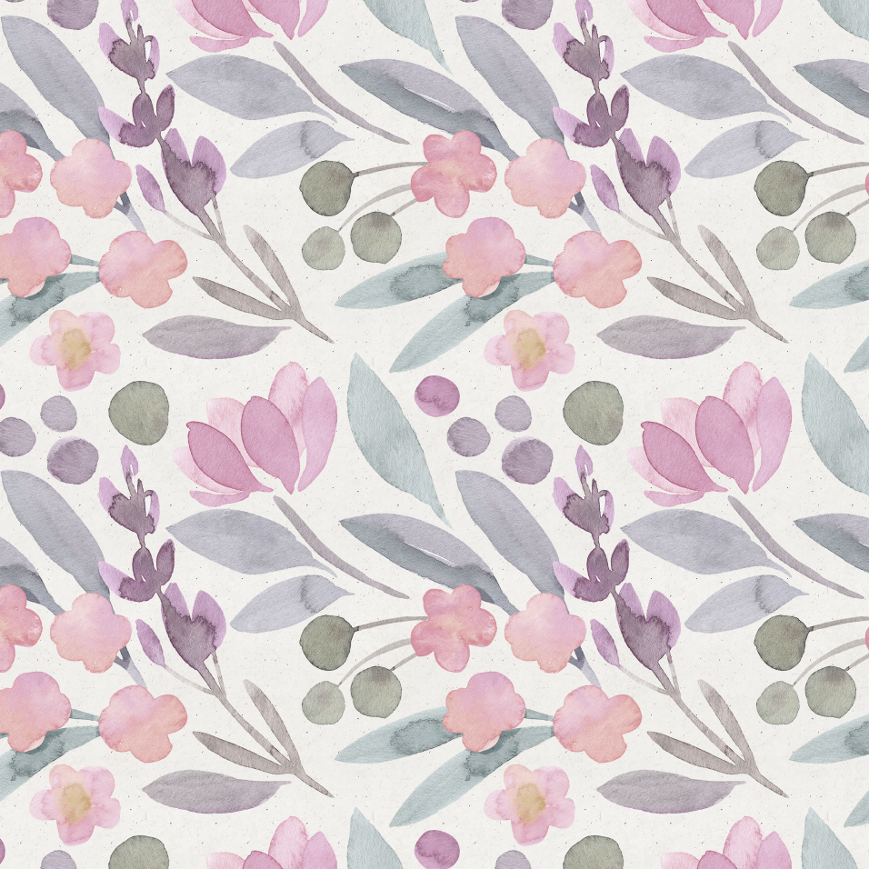 Folklaw Floral Wallpaper Self Adhesive Rocky Mountain Decals