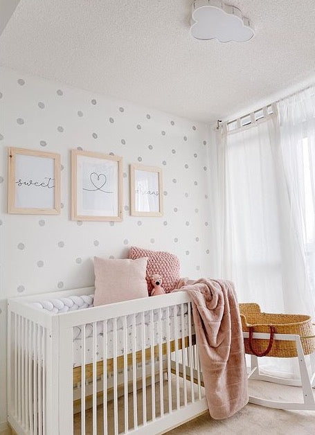 Watercolor Wall Dots