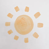 Little sun wall decals, baby boy nursery, sun decor, nursery decor, nursery wall decor, wall decor