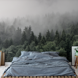 The Mountains Are Calling Wall Mural (Self-Adhesive)