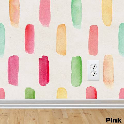 Paintstripes Wallpaper (Self-Adhesive)