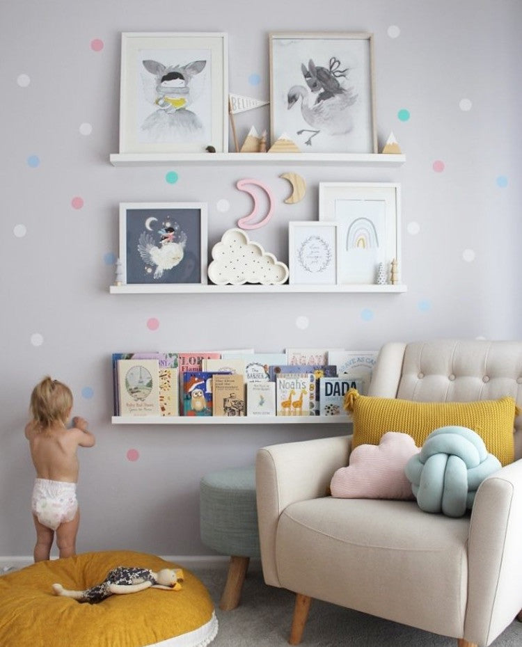 Confetti wall dots decals rocky mountain decals - Kinderzimmer gestalten wand ...