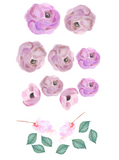 Pink Blooms Wall Stickers