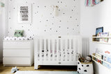 Tiny Hand Drawn Dots - WALL DECAL - Polka Dots Wall Decal - Nursery Wall Decal - Playroom Wall Decal - Circle Wall Decals - Girl Wall Decal