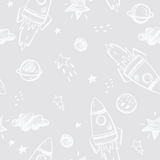Rocket Man Wallpaper (Self-Adhesive)