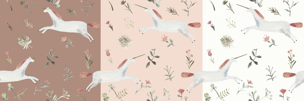 Unicorn Wallpaper Self Adhesive Rocky Mountain Decals