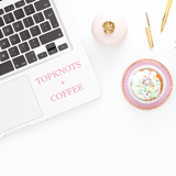 Top Knots and Coffee Decal Coffee Decal Top Knots And Coffee Decal Coffee Laptop Decal Coffee Sticker Top Knots and Coffee Sticker Laptop Sticker iPad Decal Phone