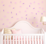 Sprinkles Wall decal, sprinkle decorations, kids wall decorations, sprinkles decal, baby room decor, nursery wall decal, kids wall decals