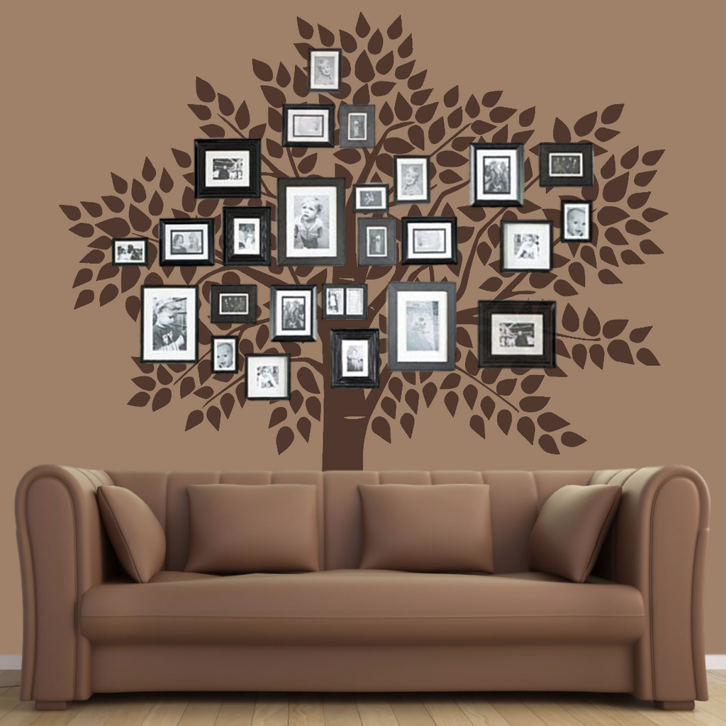 Tree Wall Decal, Family Tree Wall Decal Sticker   Living Room Wall Decals    Wall ... Part 41
