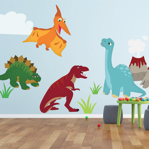 Dinosaur Sign, Dinosaur Decor, Boys Bedroom Decor, Nursery Decor, Nursery Decal, Dinosaur Bedroom, Dinosaur Decoration, Dinosaur Wall Decal